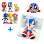 Sonic The Hedgehog Combo Set 6 Figuras + Peluche Muñeco Sega