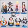 Set X 8 Figuras One Piece - Sichibukai Yomotsu Anime Store