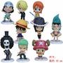 One Piece Figuras Luffy Chopper Nami Nico Brook Sanji