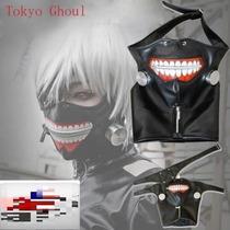 Kaneki Ken Tokyo Ghoul Mascara Cosplay Gastovic - Anime