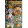 Muñeco Digimon C/tres Tazos Personaja Figura Retro Especial