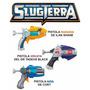 Pistola Lanzador Slugterra 2dardos 3babosas 2 Cards Game Exc