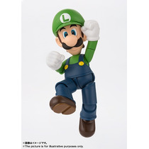 Super Mario Luigi S.h. Figuarts (original) - Bandai
