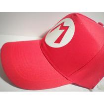 Super Mario Bros - Gorra Tipo Beisbol Cap - Luigi - Talle Un