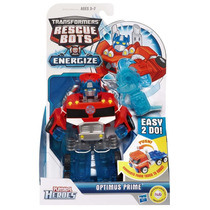 Transformers Optimus Prime Rescue Bots Playskool De Hasbro