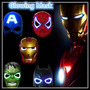 Mascara , Spiderman Hulk, Cap America Batman Con Luz!