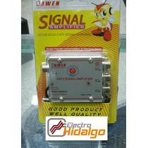 Amplificador De Señal 20 Db 1 Entrada 3 Salidas