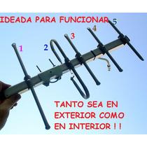 Antena Tda Tdt Digital Hd Puede Usar En Interior Ó Terraza
