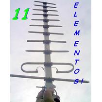 Antena Tv Yagi Digital Tda Hd 11 Elementos Aerea Ó Interior
