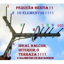 Tda Full Hd Poderosa Balcon Terraza Interior Digital 10 Elem