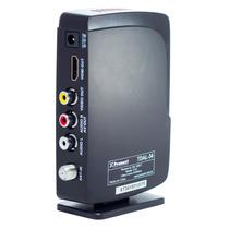 Combo Sintonizador Tda Deco + Antena Tda + 20mts Cable