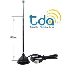 Antena Interior Tv Digital Tda Hd Magnética Led Decoficador