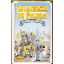 Cartas Naipes Cromy Locademia De Policia Pelicula Warner