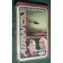Cartas Naipes Airwolf Lobo Del Aire Cromy Mazo Coleccion