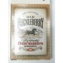 Naipes Del Whiskey Bourbon Old Huckleberry