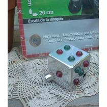 Antiguo Dado Luz Palanca Colectivo Camion Acero 5x5 (5878)