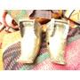 Antiguo Par Estribos Colonial Bronce Caballo Recado Criollo
