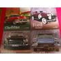 Lote De 4 Revistas Automobiles Antiguos