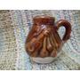 Antiguo Mate Ceramico Con Motivo Gauchesco