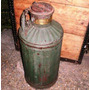 Bidon Antiguo Combustible West India Oil Company No Cartel