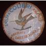 Antiguo Cartel Colibri No Enlozado Publicidad Boliche Bar