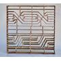 Molde Art Deco P/fabricar Cerámicos Mosaicos Y Baldosas #249