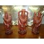 Budas En Talla De Guinda Los 3 Dioses
