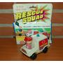 Ambulancia A Fricción Con Personaje En Caja Rescue Squad