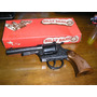 Juguete Antiguo Revolver Metal Made In Italy Billy Bang