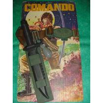Antiguo Juguete Rambo Comando Sylvester Stallone Argentino!!