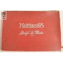 Metropolis Juego De Moda Cascabel Antiguo Plomo Baquelita