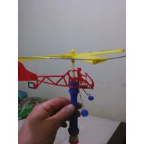 Helicóptero Juguete Antiguo ( Heli Bambi)