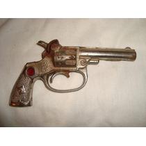 Pono Kenton Cast Iron Pistol 1936 Revolver Juguete Old Toy