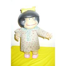 Antigua Mafalda En Plastico Inflado