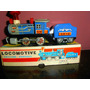 Locomotora+ Vagon Carbonero Mf712 Chapa China- Devoto Toys