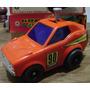 Antiguo Auto A Pilas Multifuncion - Marca Modern Toys Japon