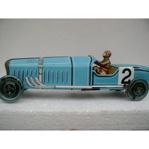 Bugatti Bolido Paya A Cuerda Con Caja Edicion Limitada