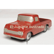 Pick Up Ford Loba Duravit Dec 50 Juguete Antiguo Original