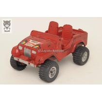 Jeep Rojo Competicion Duravit 81 Marlboro Juguete Antiguo