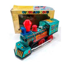 Locomotora A Pila Año 60/70 Luz Sonido Nueva Juguetes Lloret