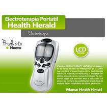 Electroestimulador Portatil 4 Electrodos Etong + Laser