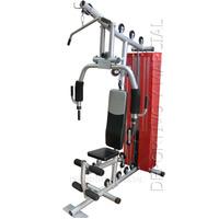 Multigimnasio Multigym Pro +70kg Maquinas Aparatos Pesas Gym