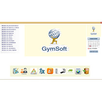 Software Gimnasio + Código Fuente Y Base De Datos.