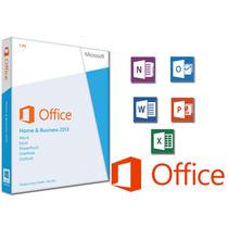 Microsoft Office 2013 Hogar Y Empresa Licencia Original Box