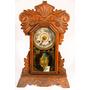 Antiguo Reloj De Madera. Funciona. Impecable!!
