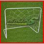 Arco De Fútbol Con Bolso (hierro) ¡¡fabrica,mejor Precio!!!