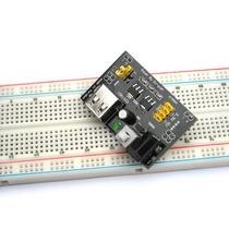 Fuente De Alimentacion Para Protoboard 5v 3.3v Mb102 Arduino