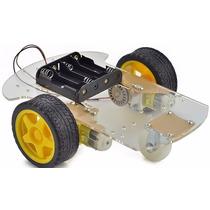Kit Robot Arduino 2wd Rover Motor Ruedas Componentes Ptec