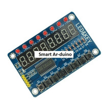 Smart Arduino Display Led Tm1638 De 8 Digitos Con Pulsadores