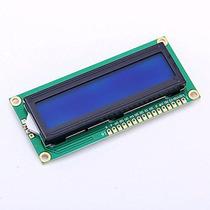 Display Lcd 2x16 Hd44780 Backlight Azul Arduino Pic
